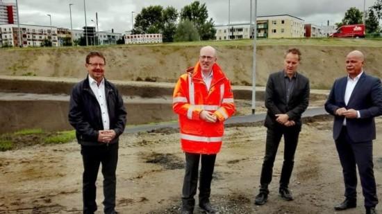 Eröffnung Kreuzung Evershagen
