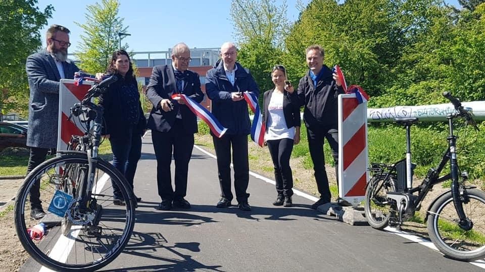 Eröffnung des 1. Radschnellwegs in Rostock