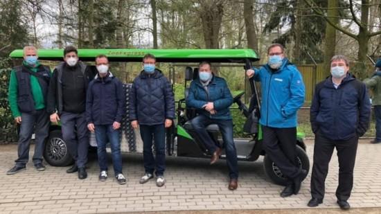 Übergabe Zoomobil an den Rostocker Zoo