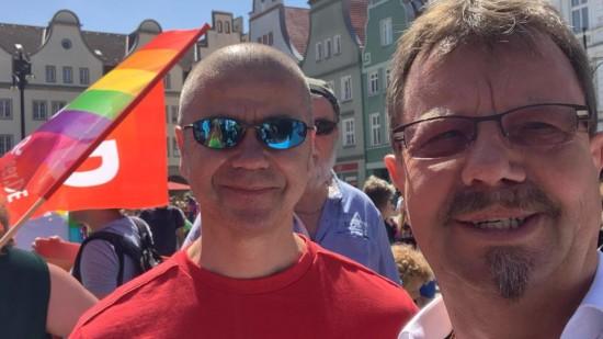 Christopher Street Day 2021 in Rostock