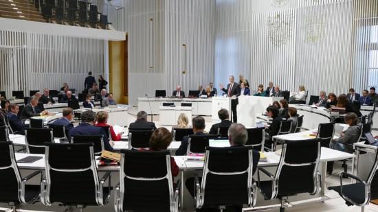 Rückansicht der SPD Landtagsfraktion