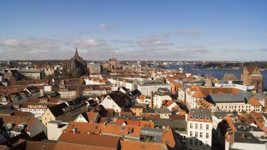 Bild der Rostocker Innenstadt